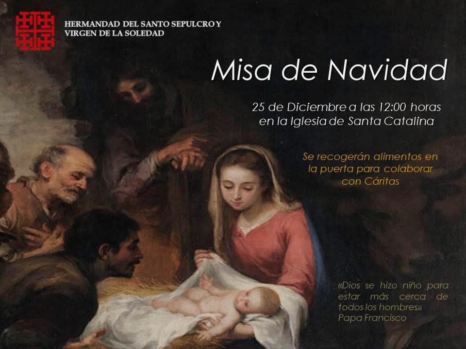 Misa Navidad Cofradia Santo Sepulcro